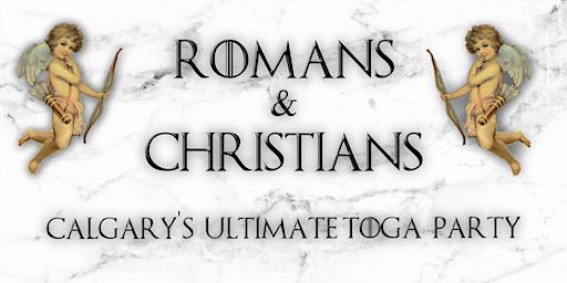 ROMANS & CHRISTIANS TOGA PARTY