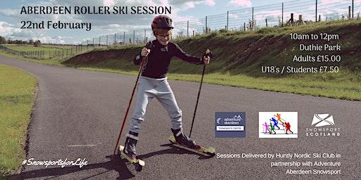 Aberdeen Roller Ski Session - 22 Feb