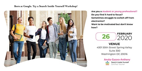 Search Inside Yourself Workshop for Students & Young Professionals tickets