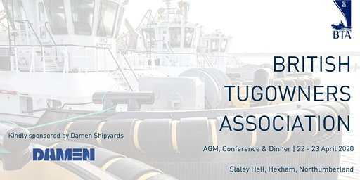 British Tugowners Association AGM, Conference, Dinner & Golf 2020