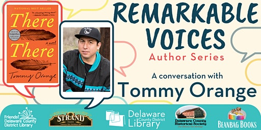 Remarkable Voices, Author Series - A Conversation with Tommy Orange