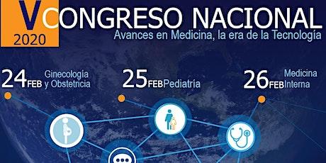 V CONGRESO NACIONAL DE MEDICINA,LA ERA DE LA TECNOLOGIA boletos