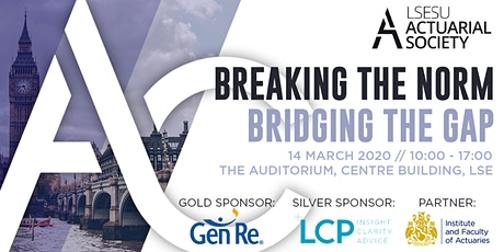 Actuarial Conference 2020: Breaking the Norm, Bridging the Gap tickets