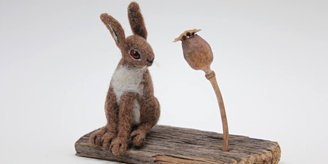 Needle-felting a March Hare (workshop) with Ruth Packham  tickets