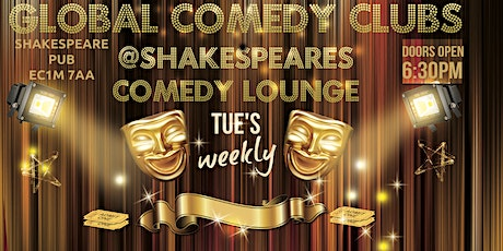 Global Comedy @Shakespeares Comedy Lounge tickets