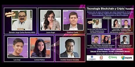 Tecnología Blockchain y Cripto Yucatan tickets