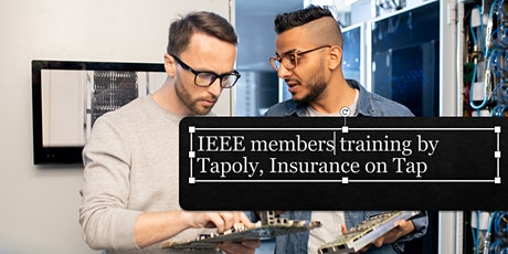 """""""Do You Understand Your Insurance Requirements?"""" Webinar with Tapoly tickets"""
