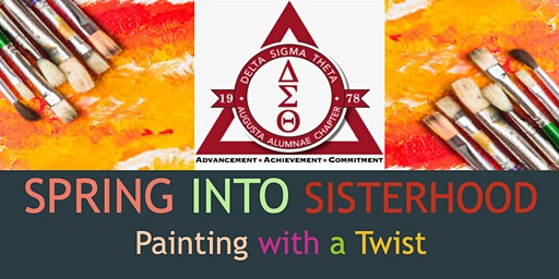 Spring into Sisterhood: Painting with a Twist