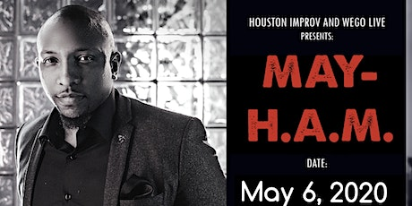 WEGO LIVE:  MAY-H.A.M. Poetry Event (Scott Free) tickets