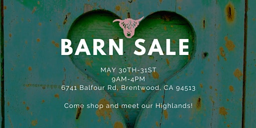 Barn Sale 2020!!
