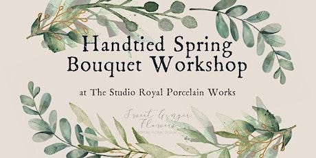 Handtied Spring Bouquet Workshop tickets