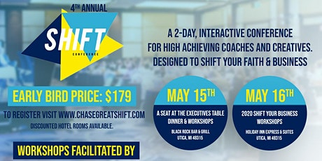 2020 SHIFT Conference tickets