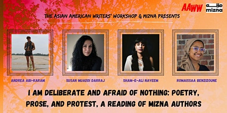 I Am Deliberate and Afraid of Nothing: Poetry, Prose, and Protest tickets