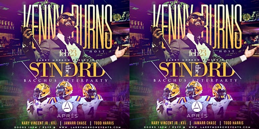 THE STNDRD hosted BY KENNY BURNS + LSU's own JAMAAR CHASE, KARY VINCENT JR & MORE