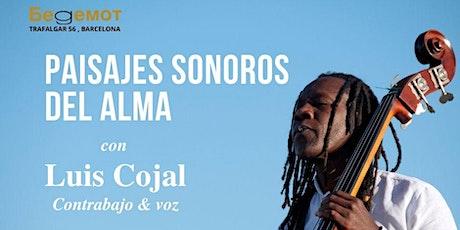 """Luis Cojal  """"Paisajes Sonoros del Alma"""" entradas"""