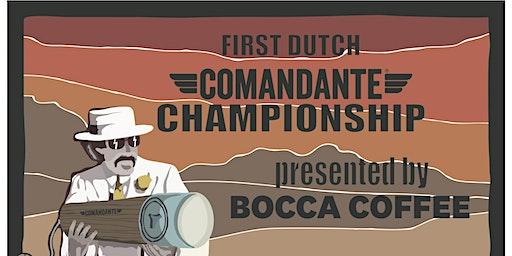 Comandante Brew & Grind Competition (Competitors)
