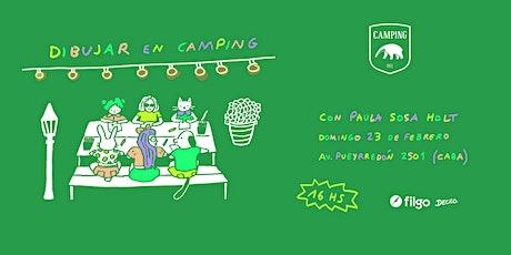 Dibujar en Camping con Paula Sosa Holt entradas