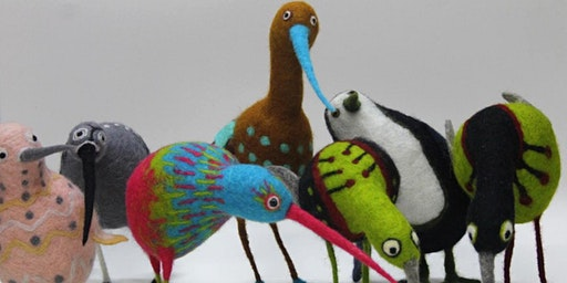 Quirky Bird Felt-making workshop with Ruth Packham