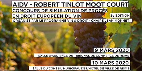 Finale du concours de simulation de procès en droit européen du vin - Reims tickets