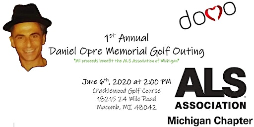 The Daniel Opre Memorial Outing (DOMO)-Driving Out ALS!!