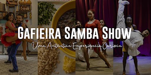 Gafieira Samba Show | Espetáculo com Jantar Brasileiro