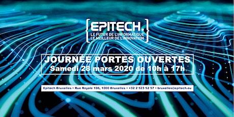 Journée Portes Ouvertes - Epitech Brussels #3 2019/2020 billets