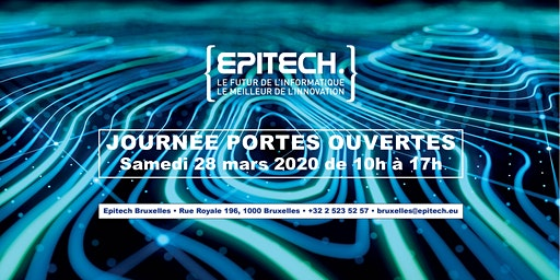 Journée Portes Ouvertes - Epitech Brussels #3 2019/2020
