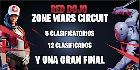 Red Dojo: Zone Wars Circuit #1 entradas