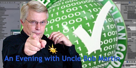 An Evening Tech Talk With Uncle Bob Martin in IT Tralee tickets