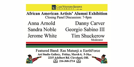 CWRU African American Artists Exhibition: Closing Artists Panel Discussion tickets