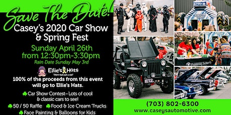 Casey's 2020 Car Show & Spring Fest tickets