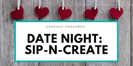 Date Night Sip-N-Paint tickets