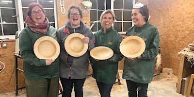 One day beginner bowl turning workshop