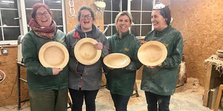 One day beginner bowl turning workshop tickets