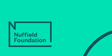 The Nuffield Foundation at the University of Bristol 2020 tickets