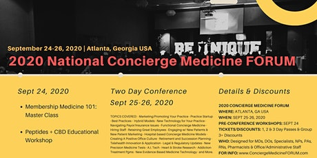2020 Concierge Medicine FORUM | ATLANTA, GA USA tickets