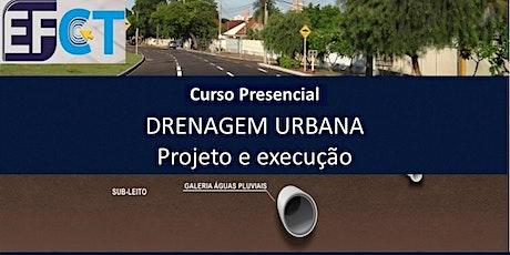 Curso Presencial Drenagem Urbana ingressos