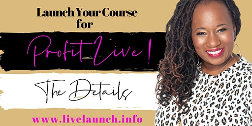 Launch Your Online Course for Profit Lunch & Learn
