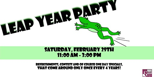 Leap Year Party at Sill's Motor Sales