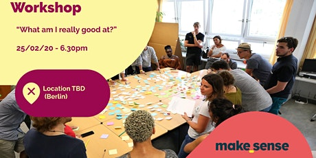 Workshop - What am I good at? Tickets