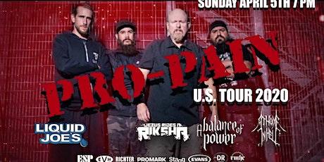 Pro-Pain US Tour 2020 tickets