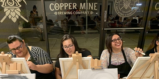 $18 Paint Night at Copper Mine Brewing Co