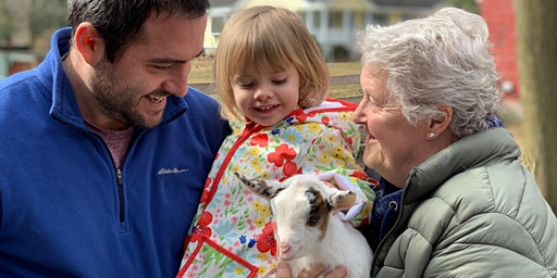 Goats and Giggles - 5/16 | 10:30am - 11:30am |