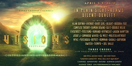 April 3-5 / Visions microFest / Anderson, SC tickets