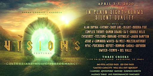 April 3-5 / Visions microFest / Anderson, SC