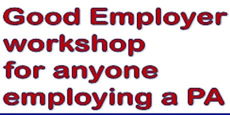Good Employer Workshop tickets