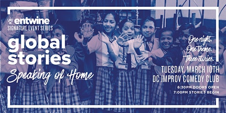 JDC Entwine Global Stories: Speaking Of Home| DC tickets