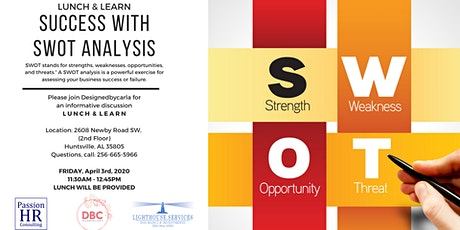 Lunch & Learn with SWOT tickets