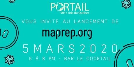 6 à 8 de lancement - Maprep.org tickets