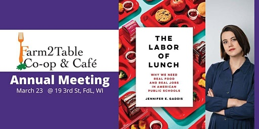 Farm 2 Table Potluck and Annual Meeting - Guest Speaker Jennifer Gaddis